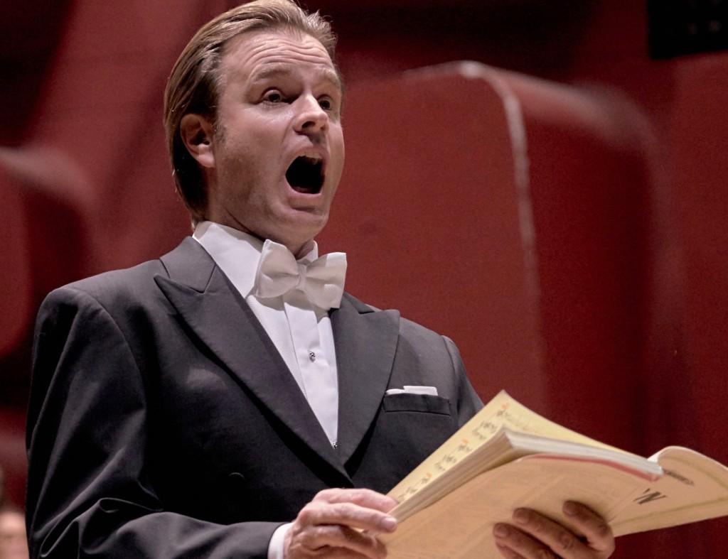 Bernard Richter Concert