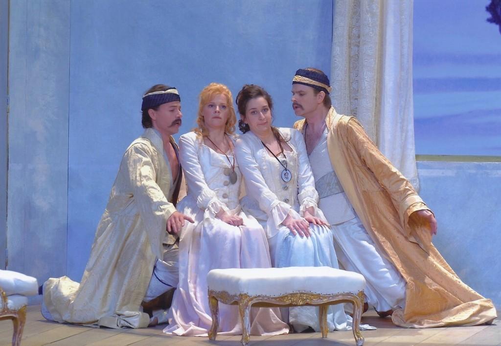 Cosi Fan Tutte Théâtre des Ch.Elysées_mit Markus Werba-Camilla Tilling Michèle Losier