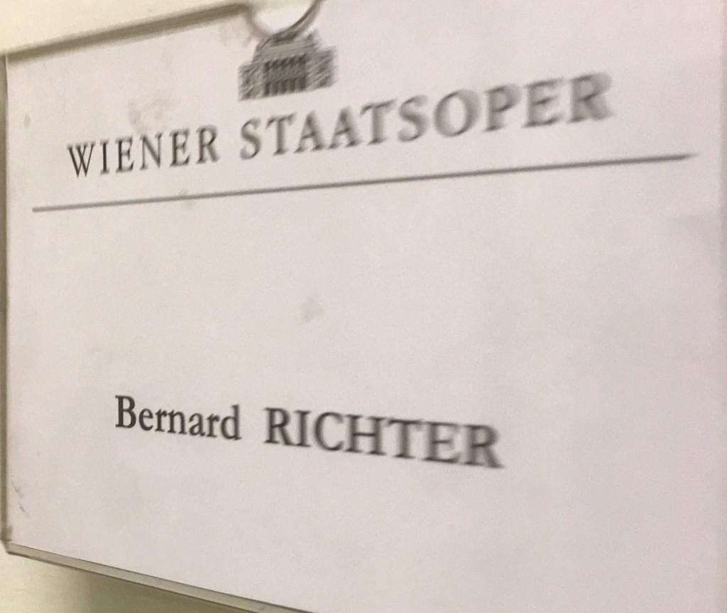 Wiener Staatsoper loge